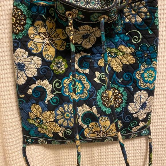 Vera Bradley drawstring bag